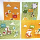 Woodland Creatures Notecard Set - Item #NCS48
