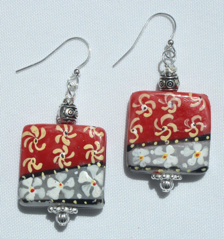 Pinwheel Earrings - Item #E352