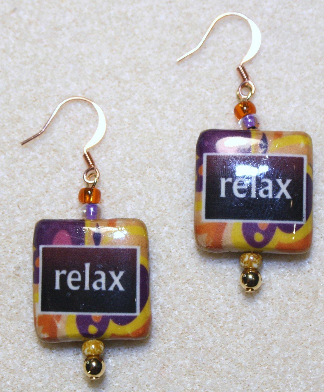 """""""Relax"""" Earrings - Item #E397"""