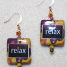 """Relax"" Earrings - Item #E397"