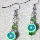Refreshing Lime Earrings - Item #E424