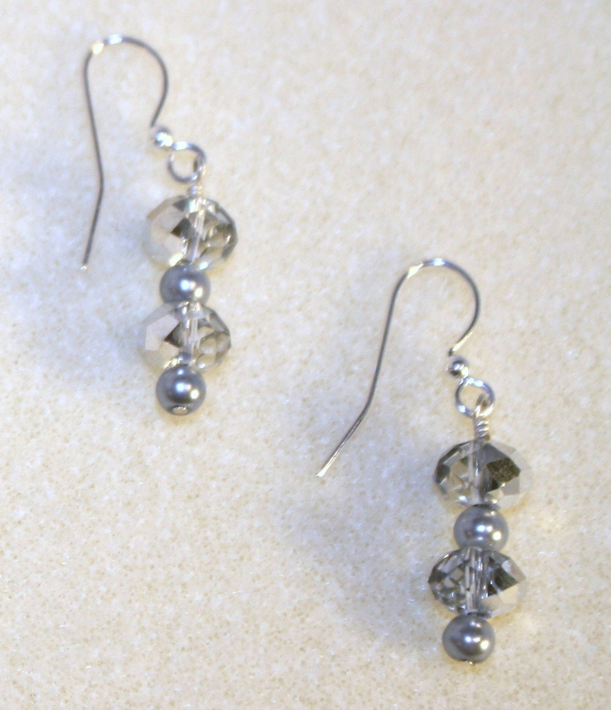 Silver Bling Earrings - Item #BES2B