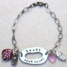 """Share Your Heart"" Bracelet - Item #B69"
