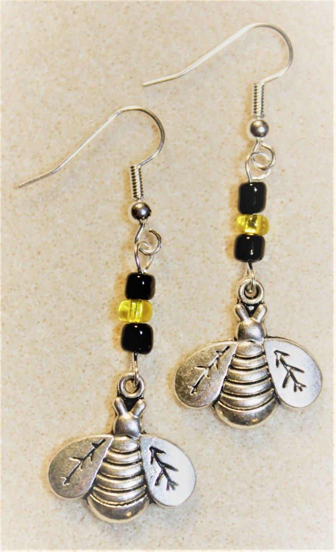 Busy Bee Earrings - Item #E498
