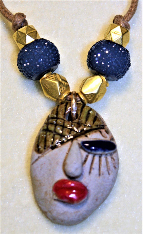 Winking Diva Necklace - Item #N20B
