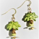 """Palm Trees On the Beach"" Earrings - Item #E516"