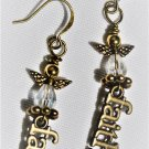 Angels and Faith Earrings - Item #E521