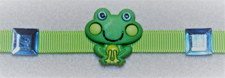 Green Frog Bracelet - Item #CHBR17