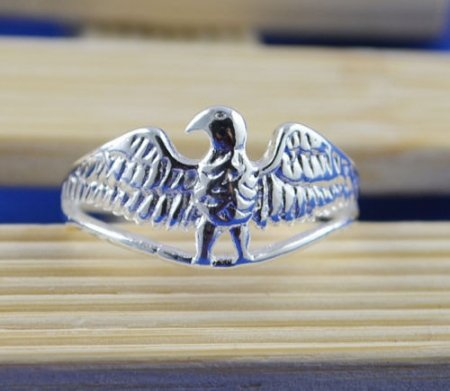 Eagle Design Ring- .925 Sterling Silver