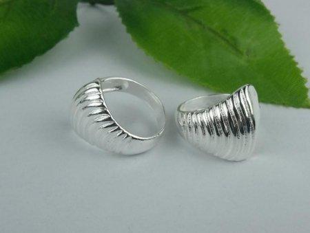 Wave Design Ring- .925 Sterling Silver