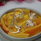 Flower Design Ring- .925 Sterling Silver