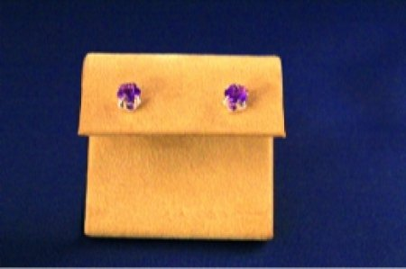 Earrings - Choice Of Gem Stone - Flower .925 Studs