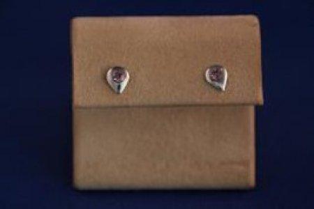 Earrings - Choice Of Gem Stone - Rain Drop .925 Studs