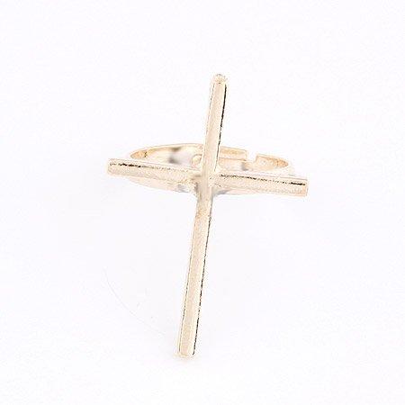 Cross Ring - 9k Gold Filled