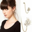 Ear Cuff - 9k Gold Filled Cluster Freshwater Pearls
