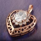 Pendant - Heart - 9Kt Gold Fill - Quite Fabulous