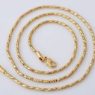 "22"" Necklace  -18k Gold Filled Unisex"