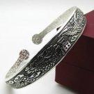 German Silver Bracelet. Design: Dragons Tail #17