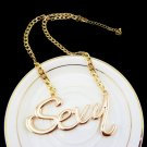 """The Gold Sexy Necklace - 18"""""""