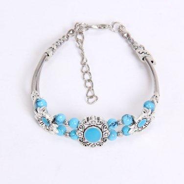Fashion Western Gem, Bead & Silver Bracelets