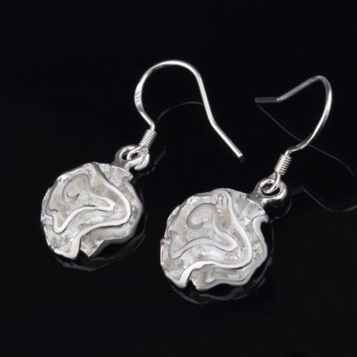 Drop Dangle Earrings ~ Elegant .925 Sterling Silver