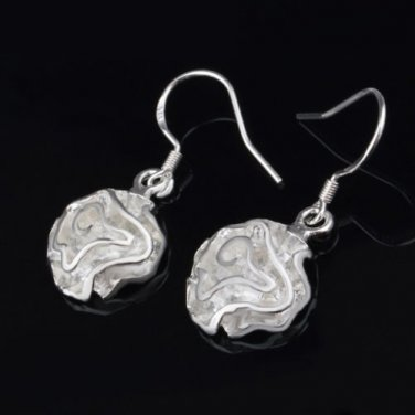 Drop Dangle Earrings ~ Elegant .925 Sterling Silver
