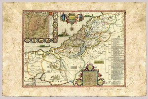 Canaan, the Holy Land by John Speed, 1676