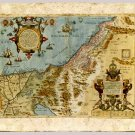 The Promised Land by Abraham Ortelius, 1570