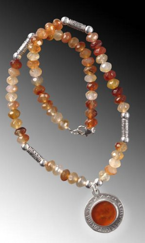 Special Carnelian Necklace For Protection