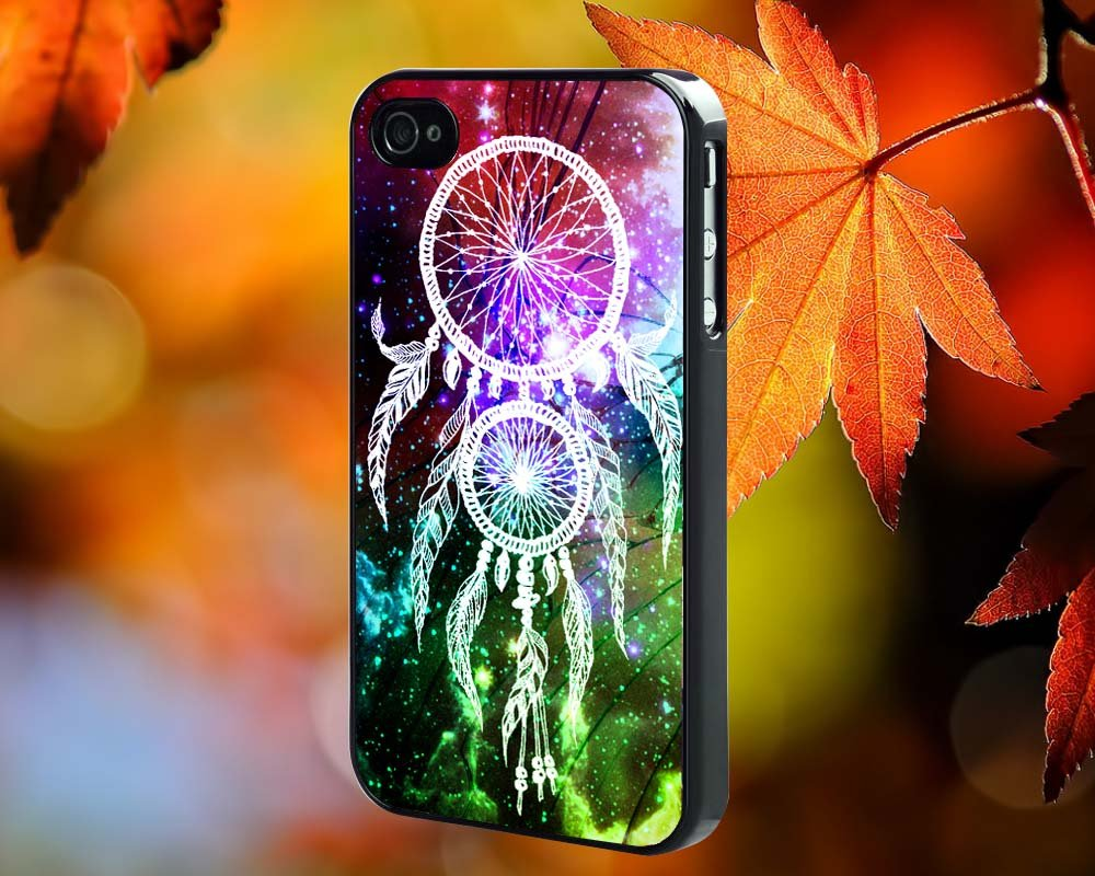 Dreamcatcher Galaxy for iPhone 4/4S,5,5c,5s & samsung galaxy S3,S4,S5 Case Hard Plastic Cover