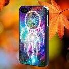 Dreamcatcher Space for iPhone 4/4S,5,5c,5s & samsung galaxy S3,S4,S5 Case Hard Plastic Cover