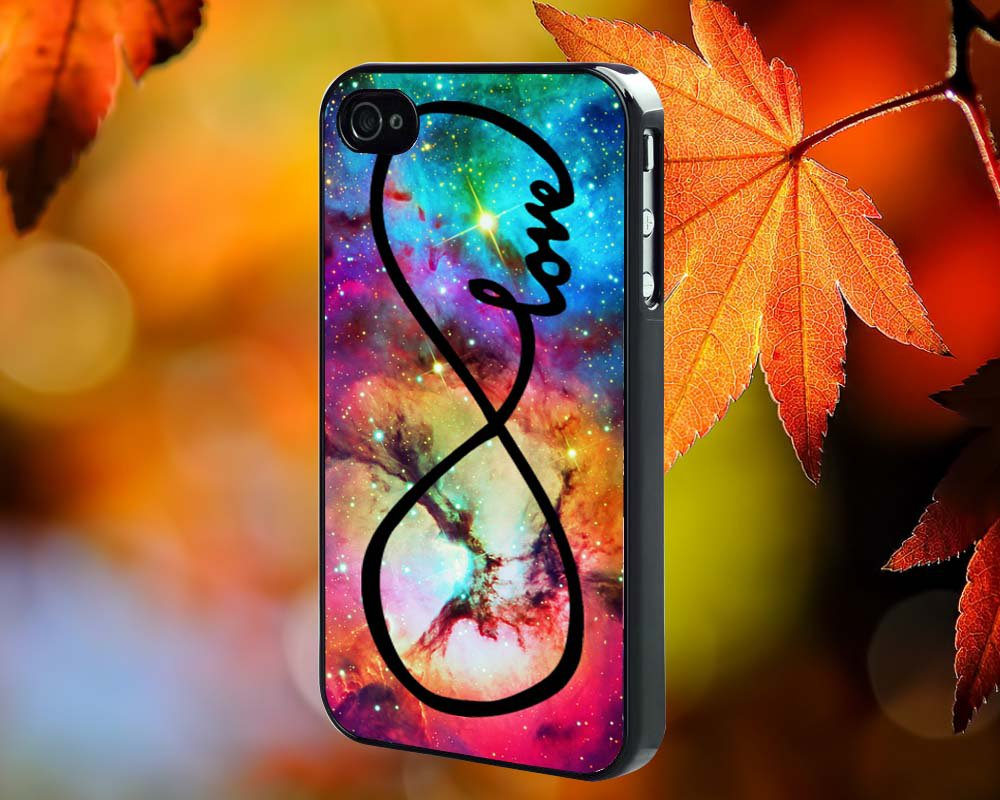 INFINITY GALAXY NEBULA for iPhone 4/4S,5,5c,5s & samsung galaxy S3,S4,S5 Case Hard Plastic Cover