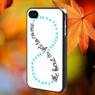 INFINITY QUOTE for iPhone 4/4S,5,5c,5s & samsung galaxy S3,S4,S5 Case Hard Plastic Cover