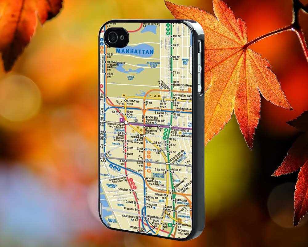 MAP for iPhone 4/4S,5,5c,5s & samsung galaxy S3,S4,S5 Case Hard Plastic Cover