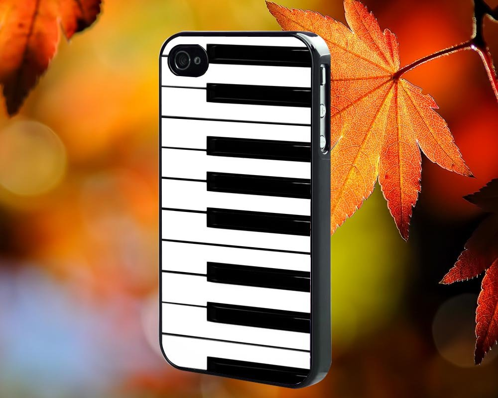 piano for iPhone 4/4S,5,5c,5s & samsung galaxy S3,S4,S5 Case Hard Plastic Cover