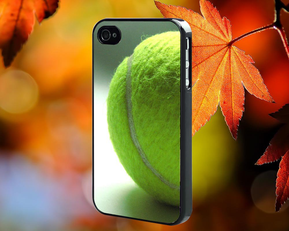 Tennis Ball for iPhone 4/4S,5,5c,5s & samsung galaxy S3,S4,S5 Case Hard Plastic Cover