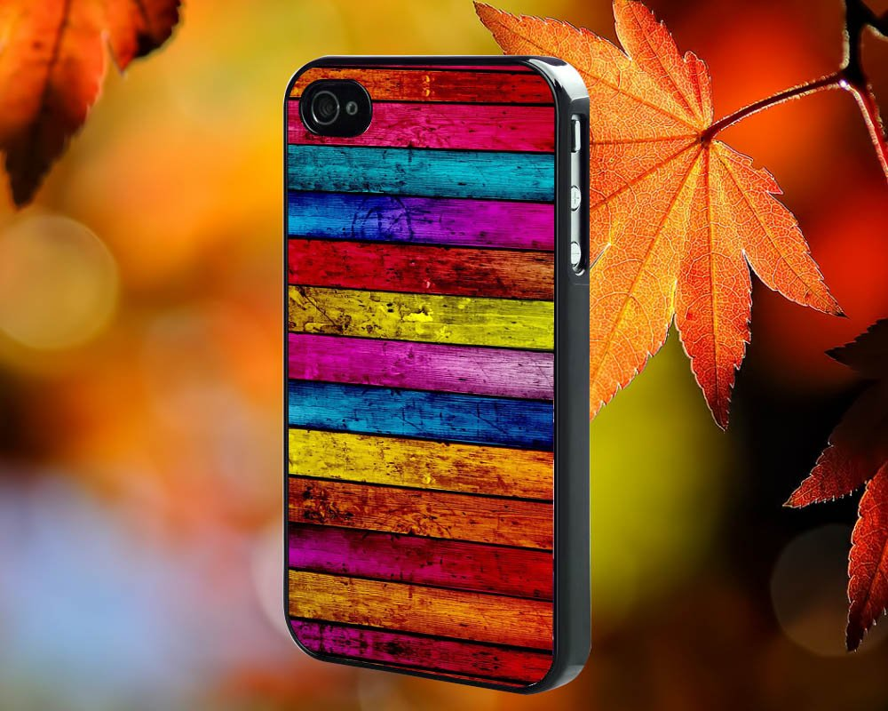 Wood stripes for iPhone 4/4S,5,5c,5s & samsung galaxy S3,S4,S5 Case Hard Plastic Cover