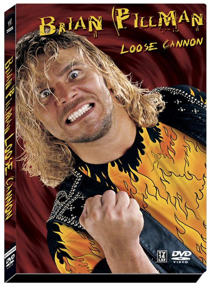 WWE Brian Pillman: Loose Cannon 2-Disc DVD - Like New (used)