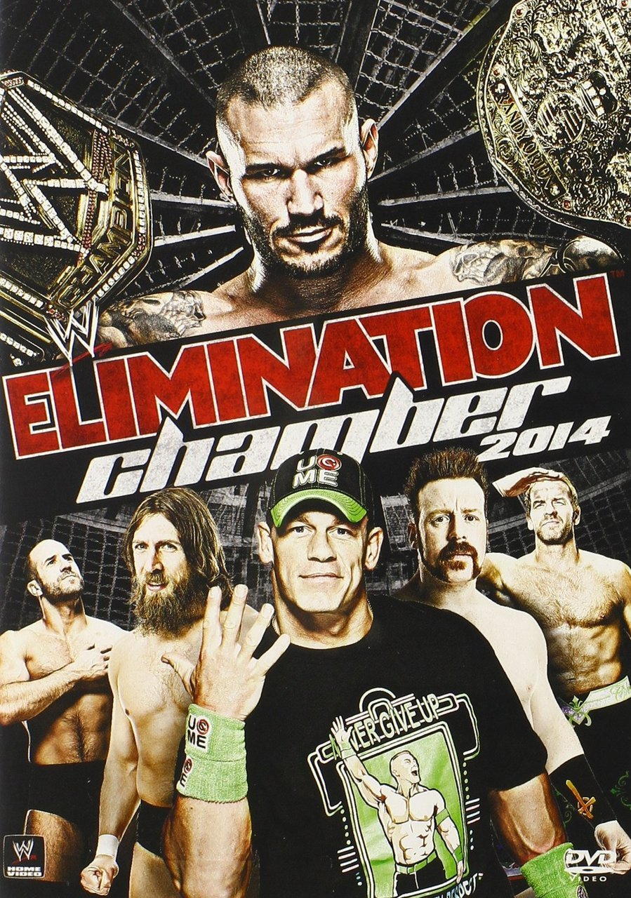 WWE: Elimination Chamber 2014 DVD - Brand New