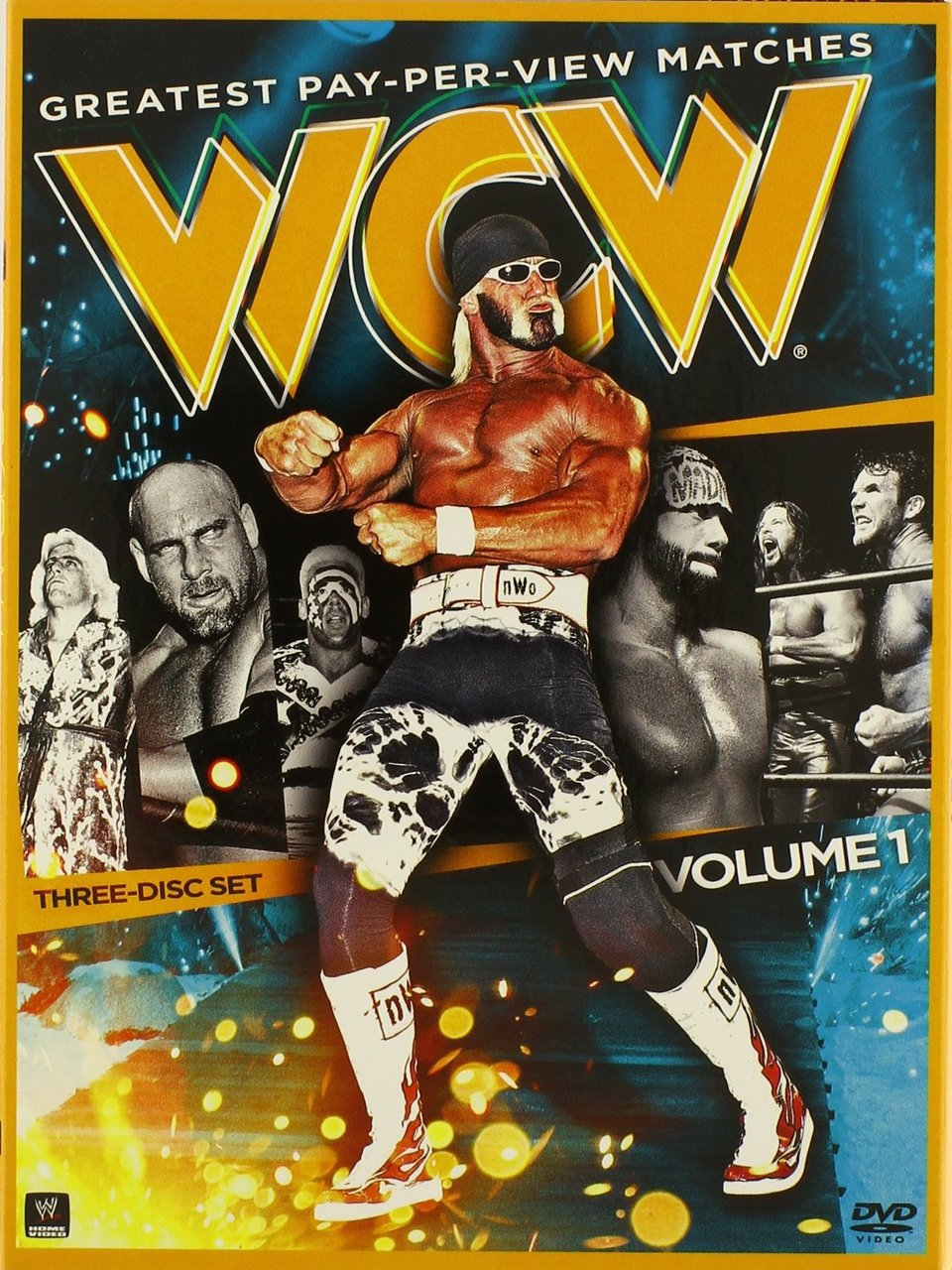 WCW's Greatest Pay-Per-View Matches, Vol. 1 DVD - Brand New