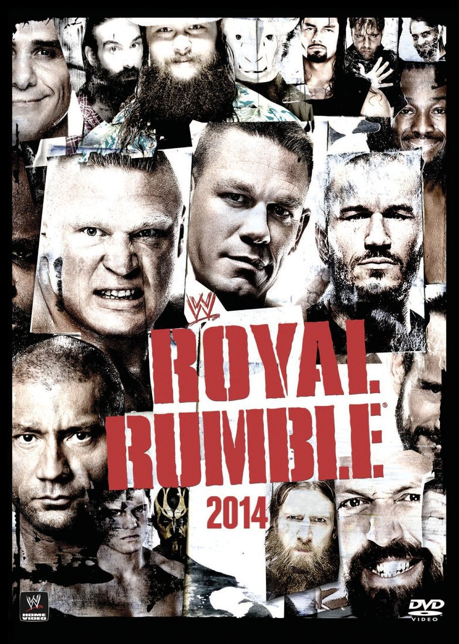 WWE Royal Rumble 2014 DVD - Brand New