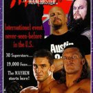 WWF/WWE: Mayhem in Manchester 1998 VHS - Like New (used)