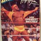 WWF/WWE: Immortal Hulk Hogan: Greatest Matches VHS - Like New (used)