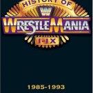 WWE History of WrestleMania 1-9, 1985-1993 DVD - Like New (used)