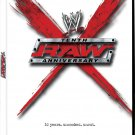 WWE Raw - Tenth Anniversary DVD - Like New (used)