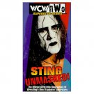 WCW Sting Unmasked VHS - Like New (used)