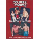 Ring of Honor: Road To The Title Philadelphia PA June 22 2002 DVD - Like New (used)