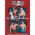 Ring of Honor - All Star Extravaganza - 11/9/02 DVD - Like New (used)