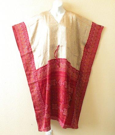 KL29 Silk Kaftan Caftan Batwing Empire Maternity Dress