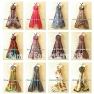 Wholesale Lot - 10pcs Versatile Silk Multi Wear Scarf Maxi Dresses